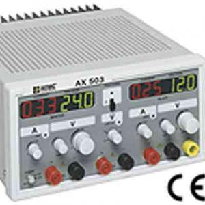 AEMC AX503 DC Power Supply with Dual Output