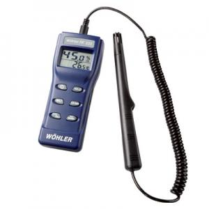 Wohler RF 220 Hygrotemp Thermo Hygrometer With Probe