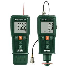 Extech 461880-NIST Combo Vibration Meter and Laser Tachometer