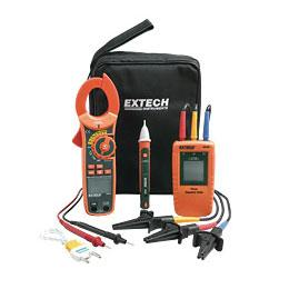 Extech MA640-K Test Kit with Phase Rotation Meter and Clamp Meter