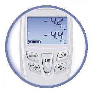 E Instruments TK152 Dual Channel Thermocouple Digital Thermometer