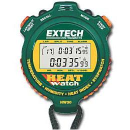 Extech HW30 Stopwatch Timer with Temperature and Humidity