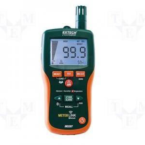 Extech MO297 Non Invasive Moisture Meter Temperature and Humidity Tester