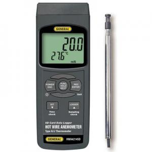 General Tools HWA4214SD Airflow Meter with Datalogging