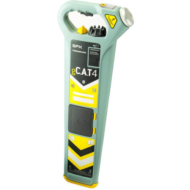 Radiodetection gCAT4 Plus Underground Cable Locator EN27 CALSafe with GPS