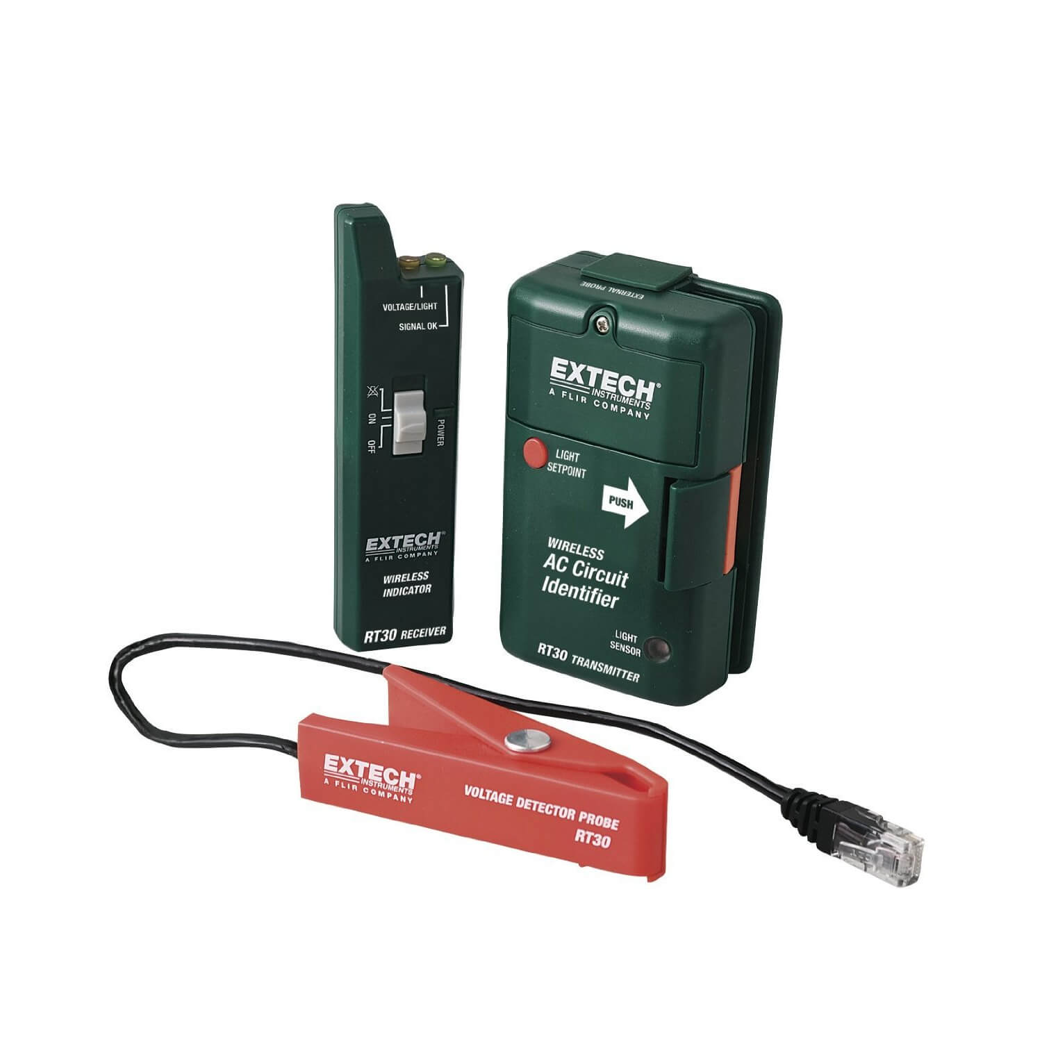 Extech RT30 AC Circuit Identifier with Wireless Transmission