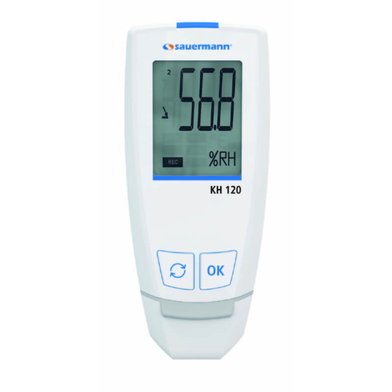Sauermann KH120 Temperature Humidity USB Datalogger with 50000 Data Points
