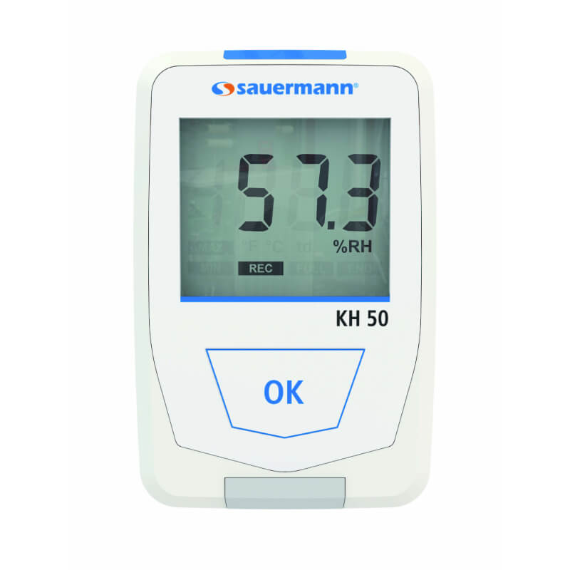 Sauermann KH50 Temperature Humidity Datalogger with 16000 Data Points