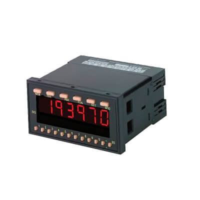 Shimpo DT-5TS Panel Mount Tachometer  for High Precision Measurements