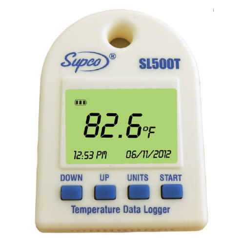 Supco SL500T Mini Data Logger  for Temperature with Display