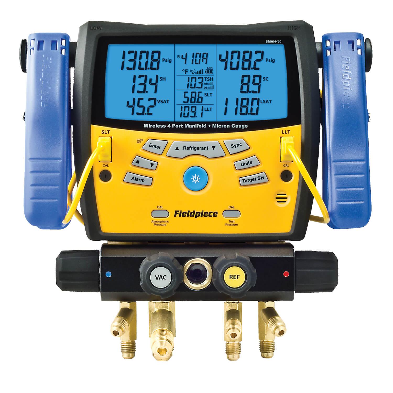 Fieldpiece Sman460 4 Port Wireless Digital Manifold With