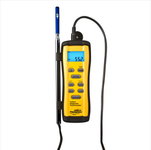Fieldpiece SRH3 In Duct Psychrometer Temperature and Humidity Meter
