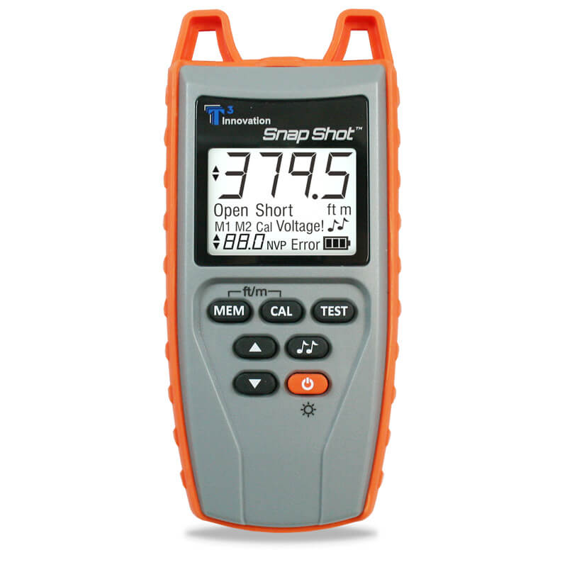Platinum Tools TSS200 Snap Shot TDR Cable Fault Locator and Length Meter