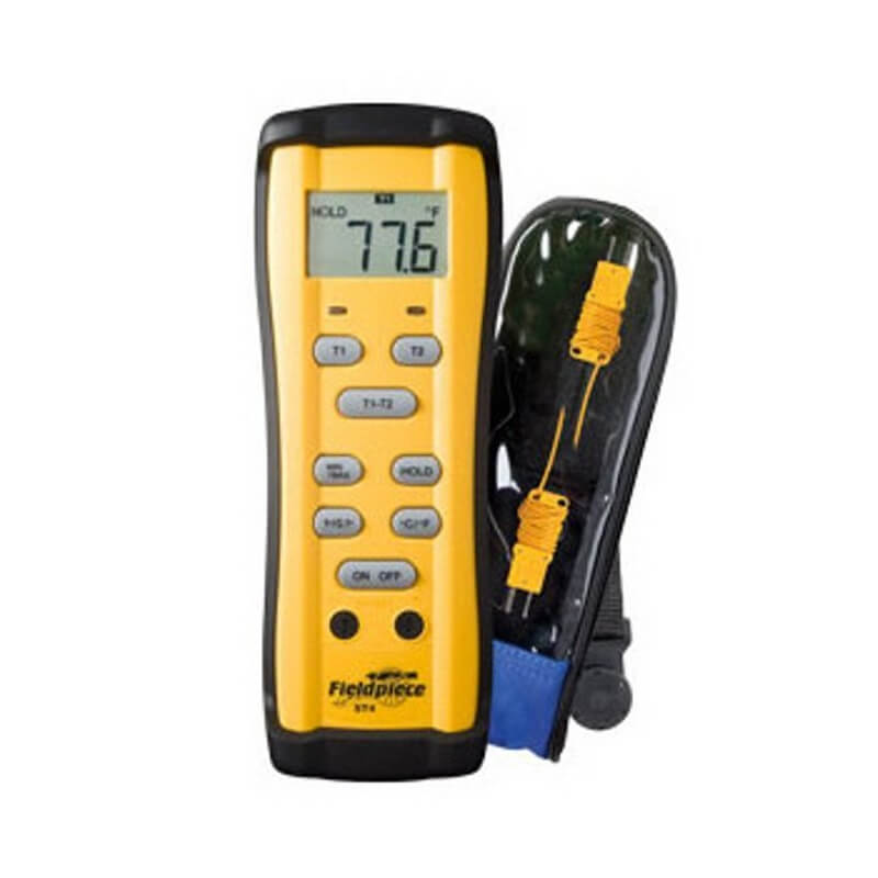 Fieldpiece ST4 Digital Dual-Temperature Thermometer