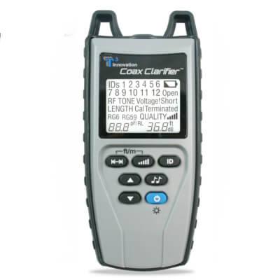 Platinum Tools TCC220 Coax Clarifier Cable Tester and Office Identifiers Kit