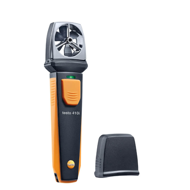 Testo 410i Wireless Vane Anemometer Smart Probe Technology