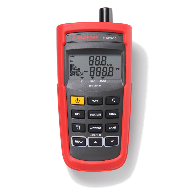 Relative Humidity Meter : Amprobe thwd relative humidity rh meter