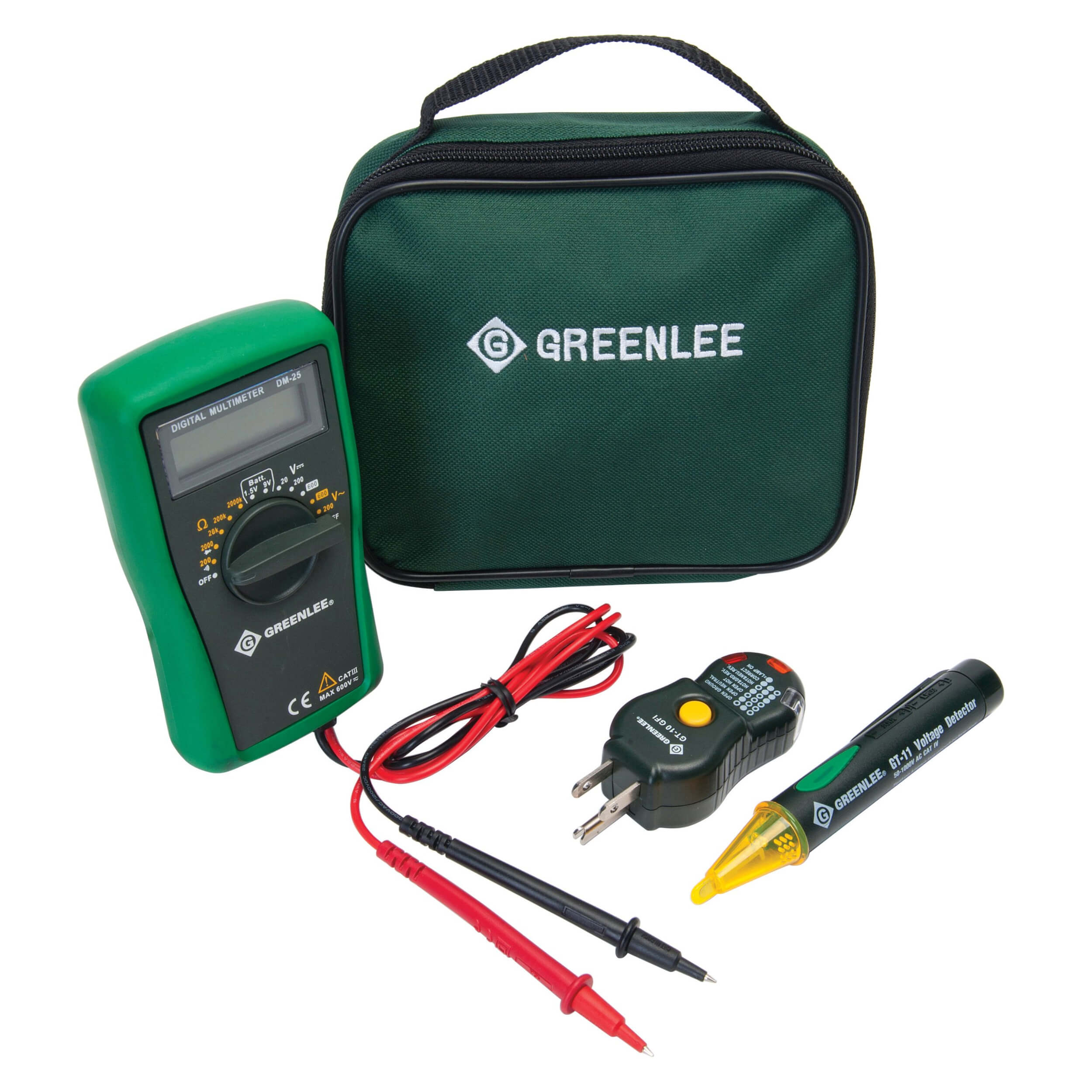 Greenlee Electrical Tester : Greenlee tk agfi electrical kit for gfci