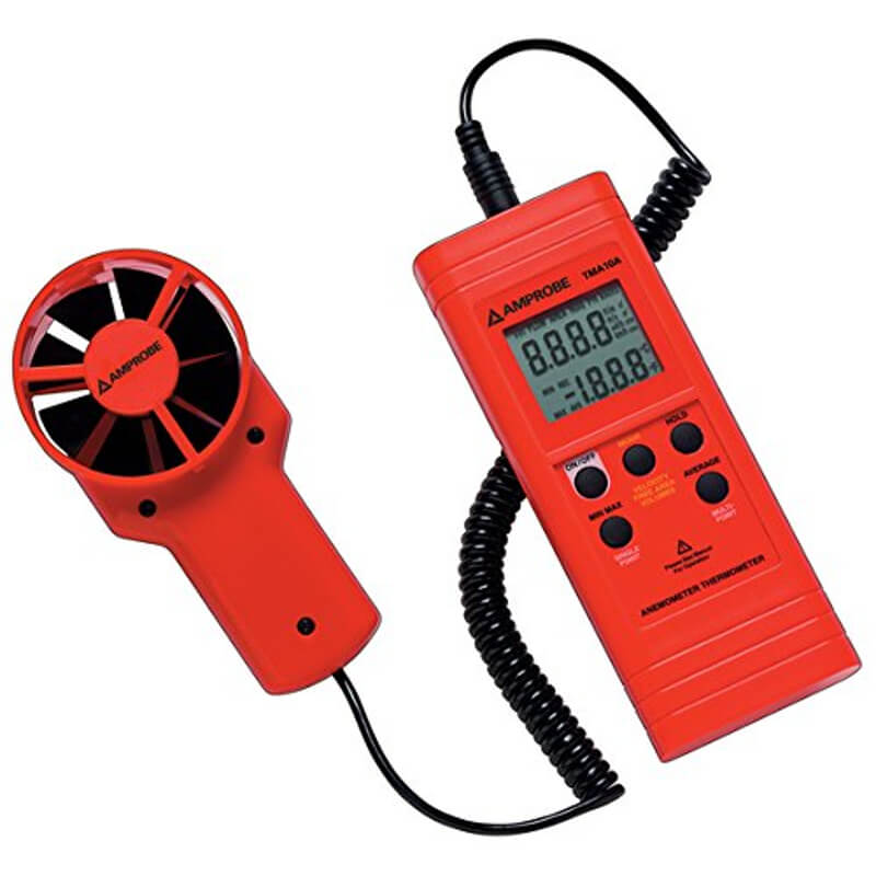 Amprobe TMA10A Handheld Thermo-Anemometer
