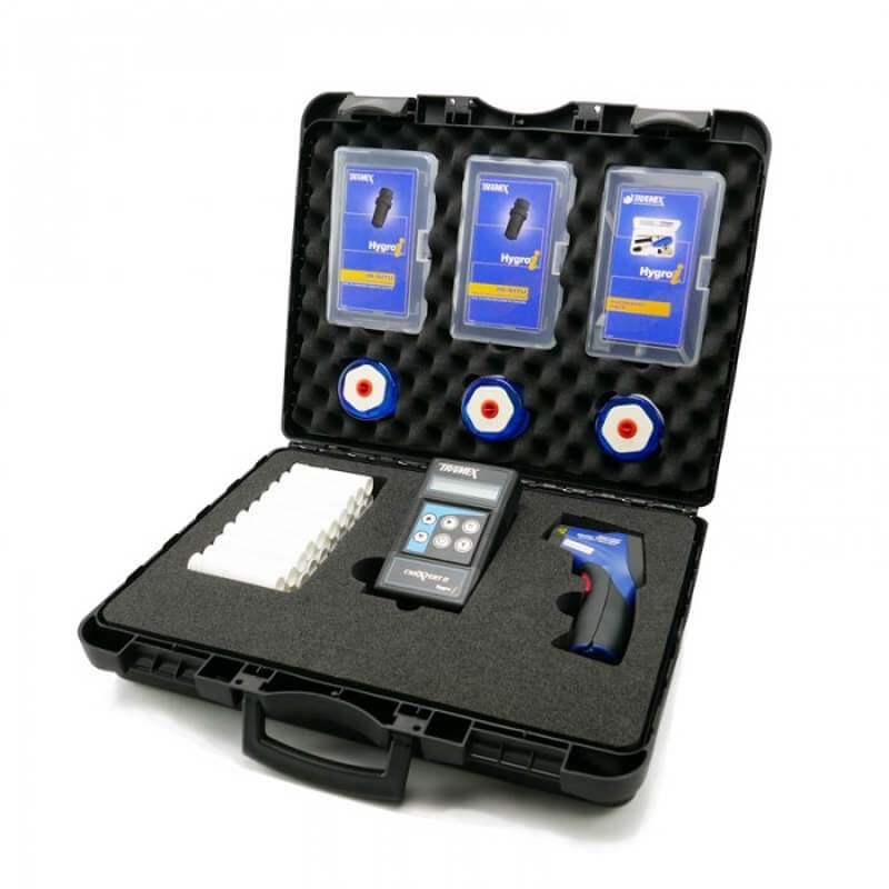 Tramex CMK5.1 Concrete Moisture Inspection Master Kit CMEX2 with RH Probes and Accessories