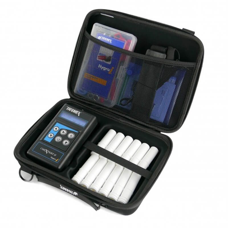 Tramex CZK5.1 Concrete Moisture Inspection EZ Kit CMEX2 with RH Probes and Accessories