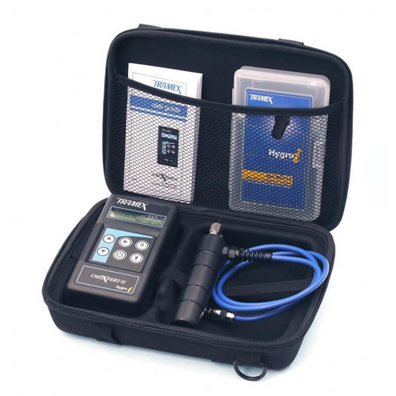 Tramex FZK5.1 Flooring Inspection EZ Moisture Meter Test Kit CMEX2 and Probe