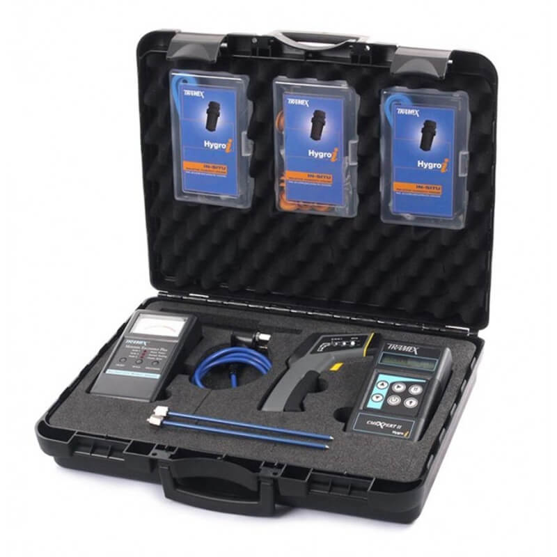 Tramex WDIK5.1 Water Damage Restoration Inspection Kit with CMEX2 MEP and Probes