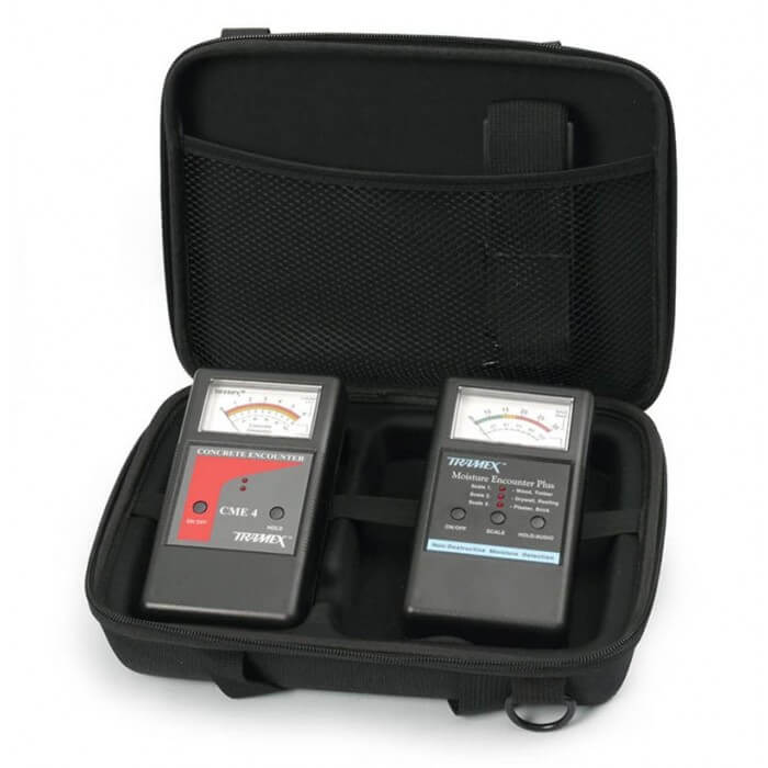 Tramex WDZK5.1 Non-Destructive Moisture Meter Test Water Damage Restoration EZ Kit