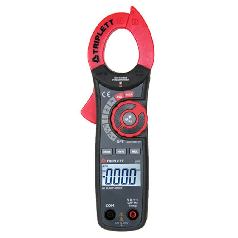 Triplett 9305 AC/DC Clamp Meter Digital