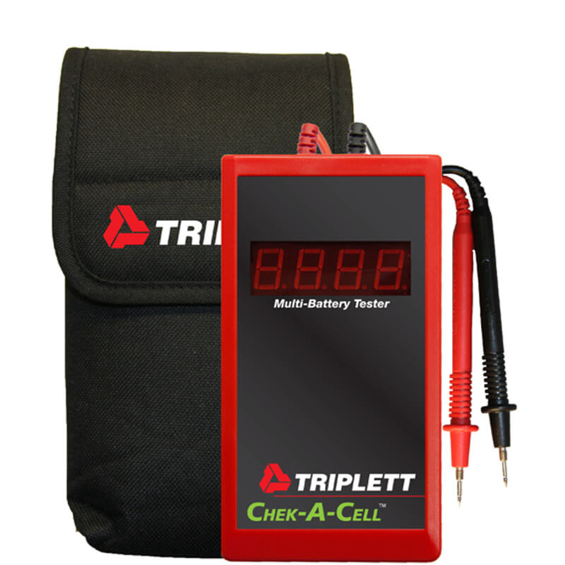 Triplett Chek-A-Cell 3276 Handheld Battery Tester