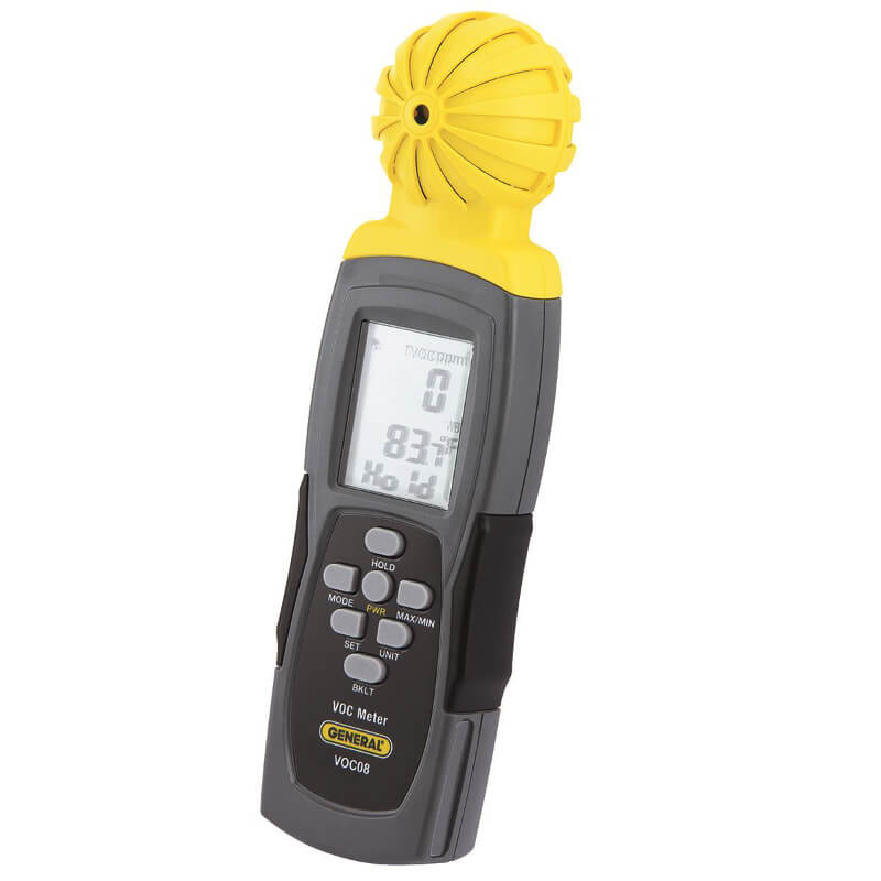 General Tools VOC08 Handheld VOC Meter with Datalogging