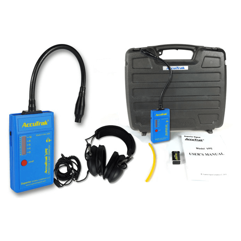 Superior AccuTrak VPE GN Pro Ultrasonic Leak Detector Professional Gooseneck Kit