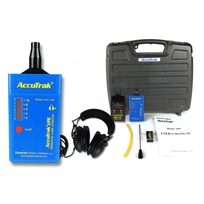 Superior AccuTrak VPE Pro Plus Kit Ultrasonic Leak Detector