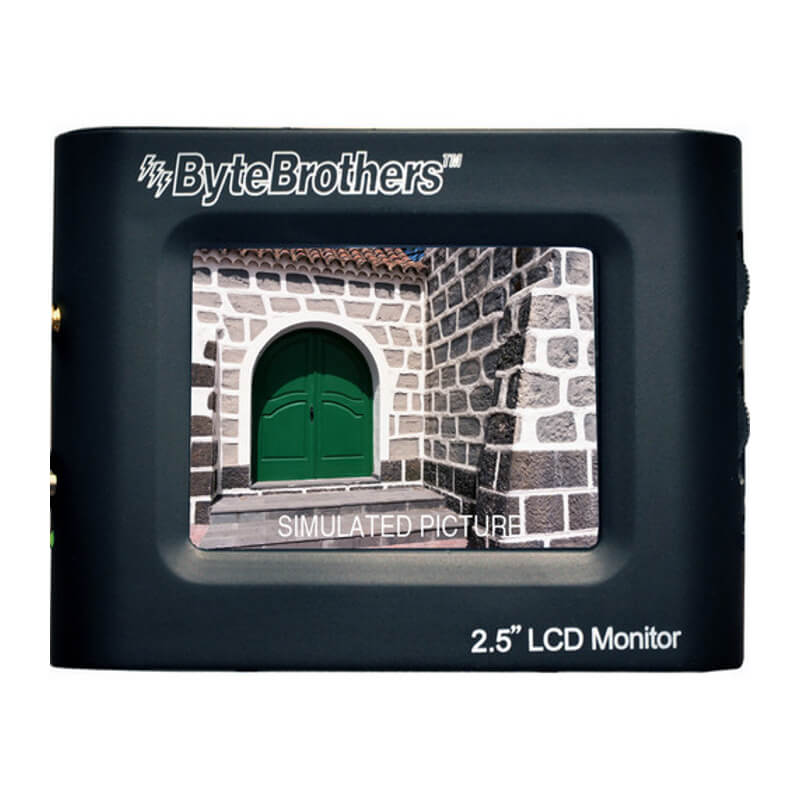 Byte Brothers VTX025 2.5in Color Mini-Monitor