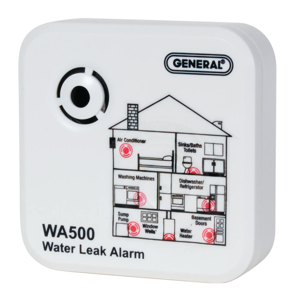 General Tools WA500 Water Alarm and Leak Detector