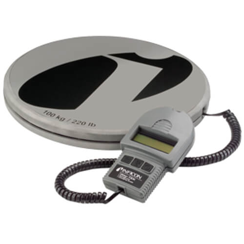 Inficon Wey-TEK Digital HVAC Refrigeration Charging Scale