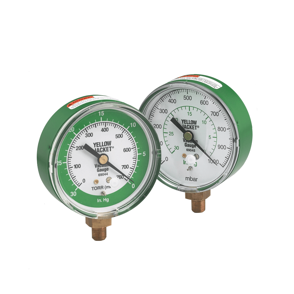 Yellow Jacket 69045 Mechanical Analog Vacuum Gauge