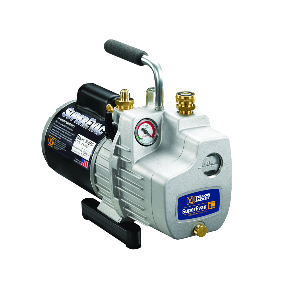 Yellow Jacket 93580 SuperEvac-8 Deluxe AC Vacuum Pump