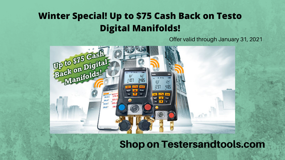 Testo Digital Manifolds Promotion