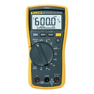 Fluke 117 TRMS Digital Multimeter with VoltAlert