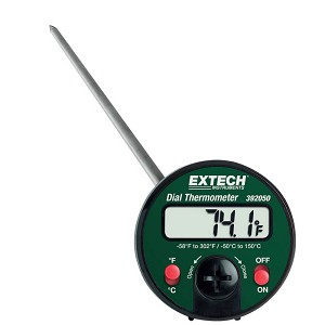Extech 392050 Pocket Style Stem Dial Thermometer