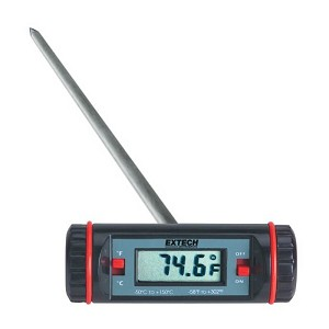 Extech 392065 T-Bar Stem Thermometer with LCD Display
