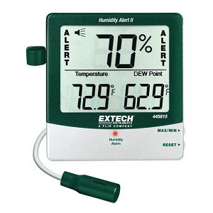Extech 445815 Digital Thermo Hygrometer with Dew Point
