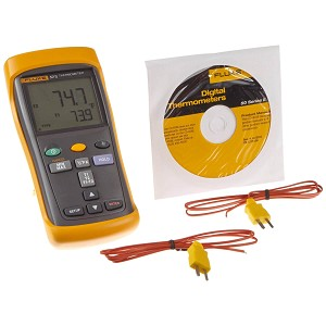 Fluke 52 II Series II Handheld Digital Thermometer