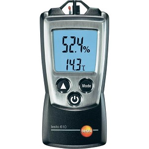 Testo 610 Humidity Temperature Meter with Digital Display