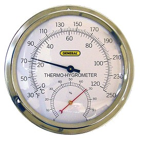 General Tools A600FC High Temperature Analog Thermo Hygrometer