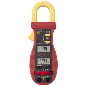 Amprobe ACD-14 TRMS PLUS Clamp On Multimeter with Dual Display 600A