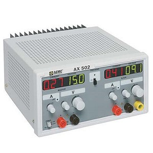 AEMC AX502 DC Power Supply with Dual Output