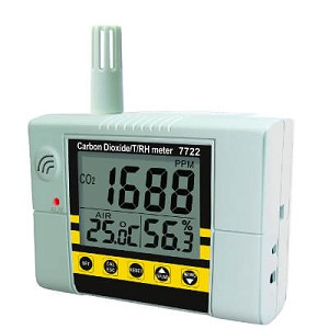 General Tools CDM77232 Digital Temperature and Humidity IAQ Monitor