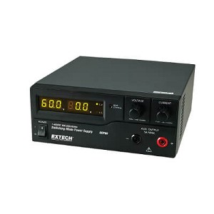 Extech DCP60-220 600W Single Output Switching Power Supply Lab Grade